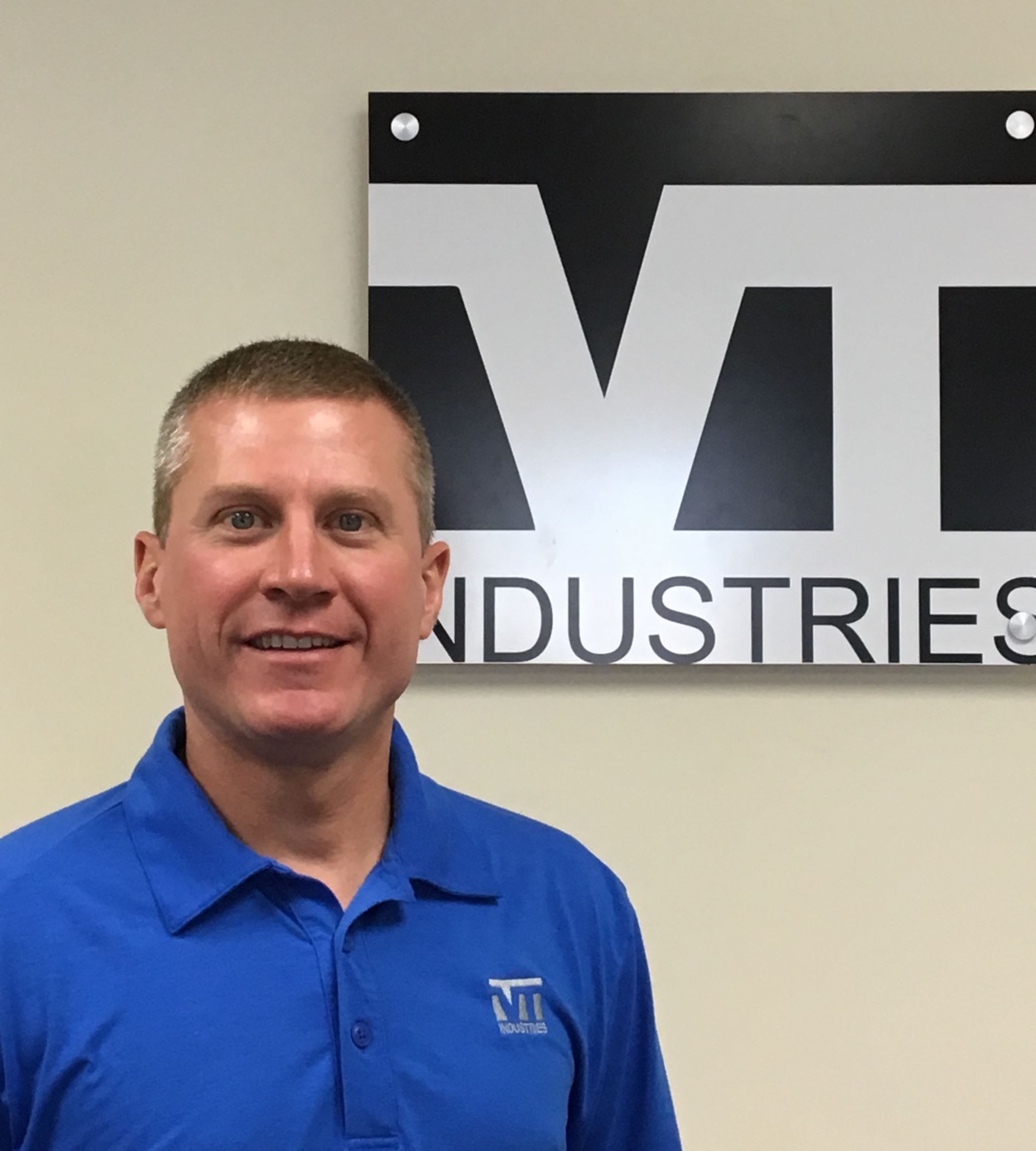 Travis Mudloff, VT Industries' Vice President of Operations