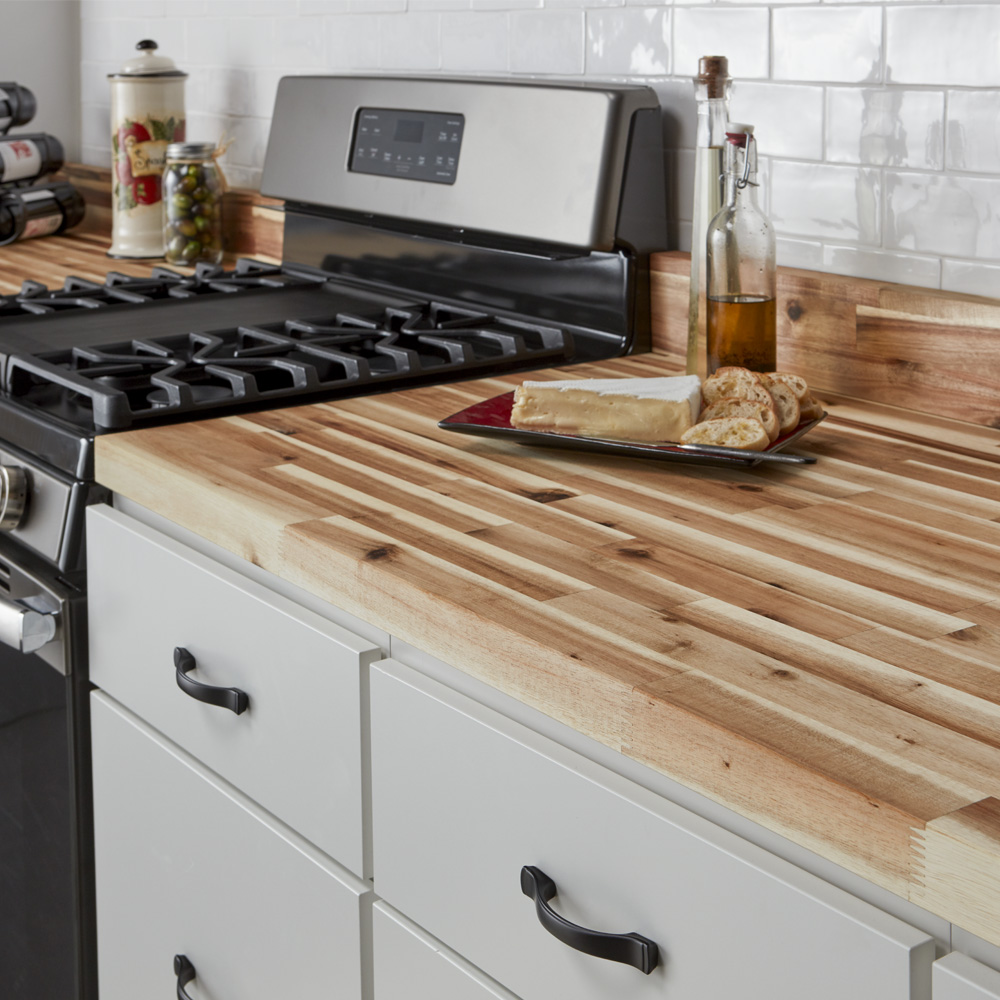 Kitchen Countertops Wood And Butcher Block: CenterPointe Butcher Block