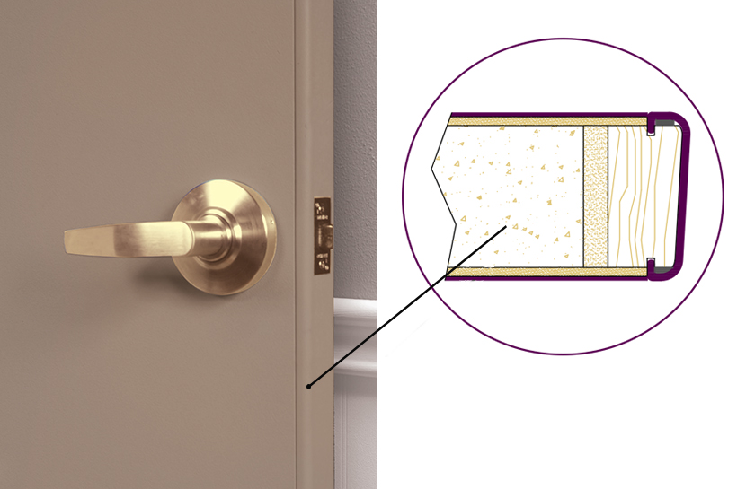 Removable Edge Palladium DOor
