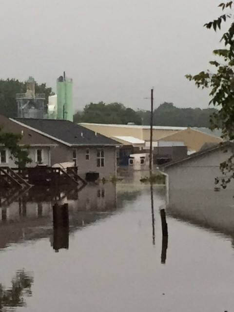 Clarksville, Iowa flooding