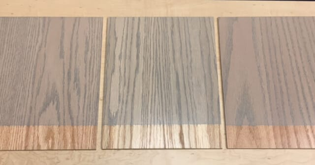 White Maple Stained Dark