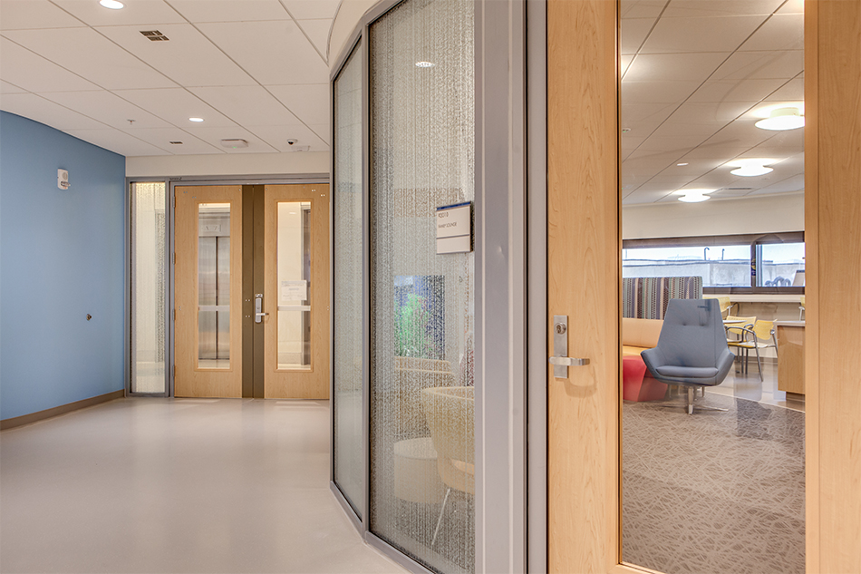 VT Industries Heritage Door Collection University of Iowa Children's Hospital