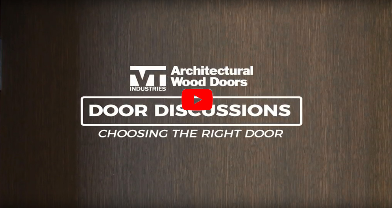 Choosing the right door door discussions