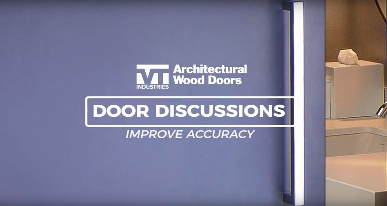 Improve Accuracy door discussions