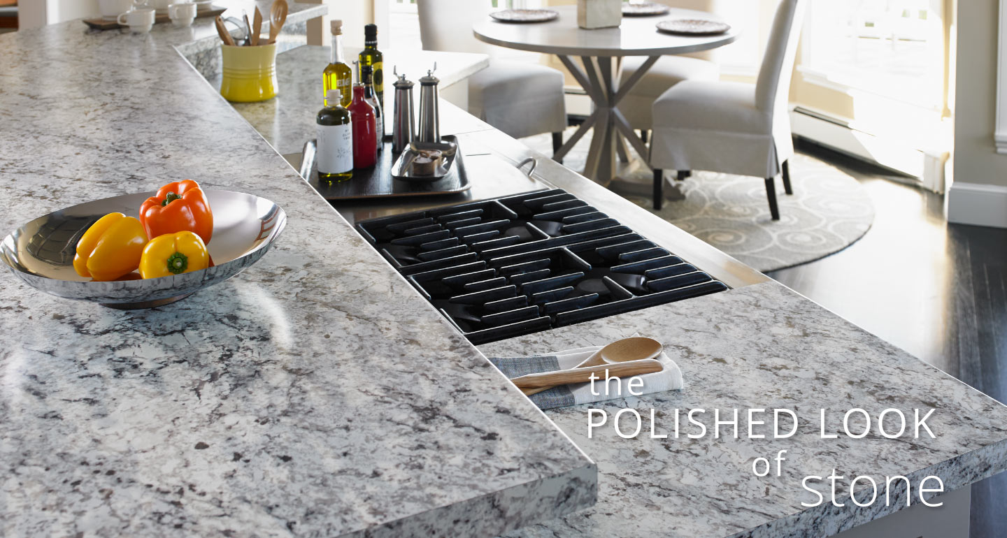 The Polished Look of Stone - Kitchen